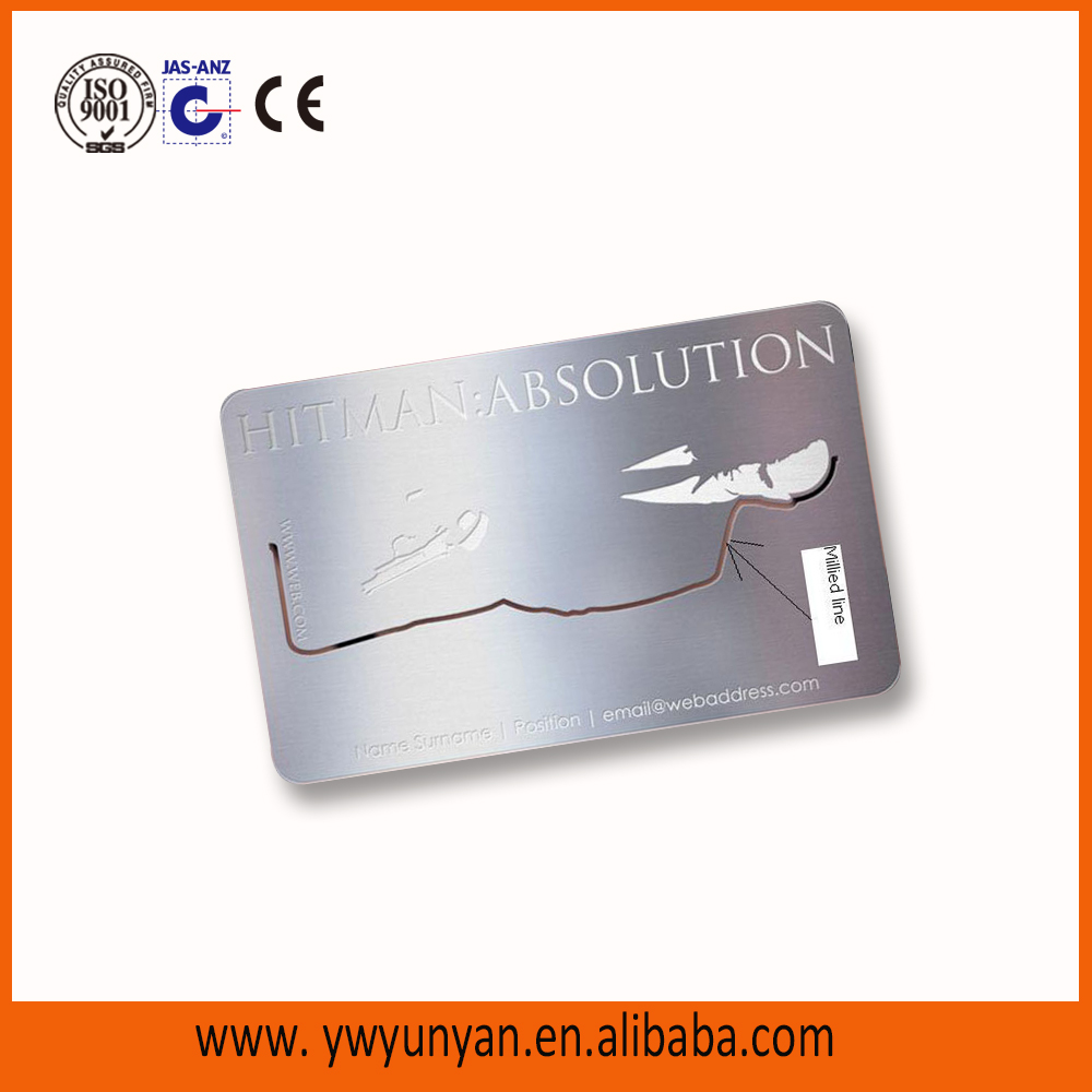List Manufacturers of Anodized Aluminum Business Card Blank, Buy ...