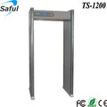 "32"" passing width size high sensitivity 0-255 level stand up scanner metal detector"