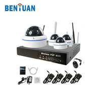 1.3MP dome ir camera 4ch 960P video recording NVR wifi security IP camera kit