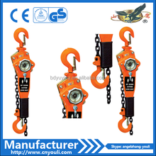 0.75T manual ratchet lever chain hoist