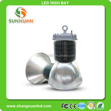 Shangxuan Lighting 2015 new style hot sale bridgelux chip Meanwell driver 3 years warranty CE RoHS 150W led high bay light
