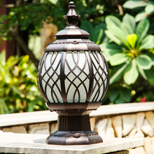 China Supply New Style Garden Lamp Pillar Light Decorative Aluminum Gate Fence Post Top light