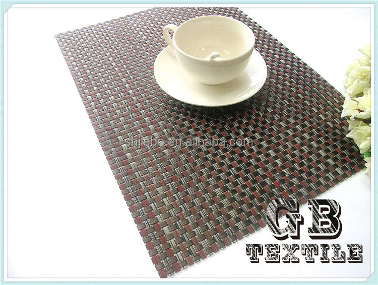 wholesale vinyl placemats for round tables
