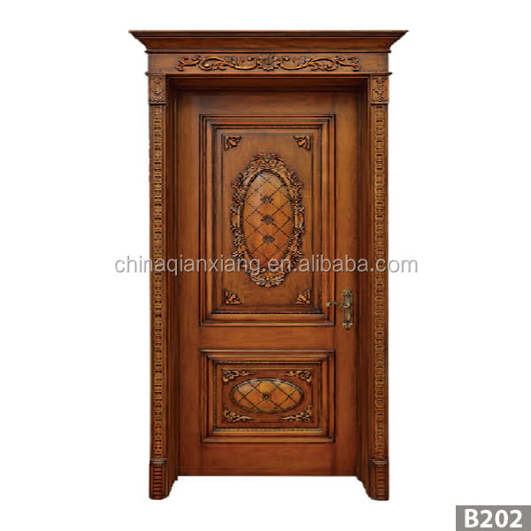 2016 Dippsi high quality sound proof wood solid wooden door with lastest design