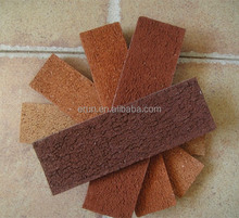 Wuxi Outdoor Wall Cladding Tile/ handmade brick for sale / decorative thin brick interior walls