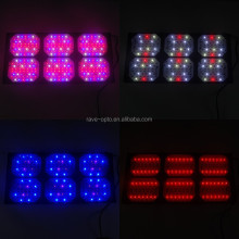 2015 hot 900w led grow light with full spectrum 4 channels design with switch buttons