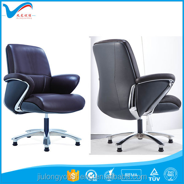 Black Leather Swivel Big Boss visitor Chair YS1605D CEO Desk meeting Chair Luxury Office Furniture