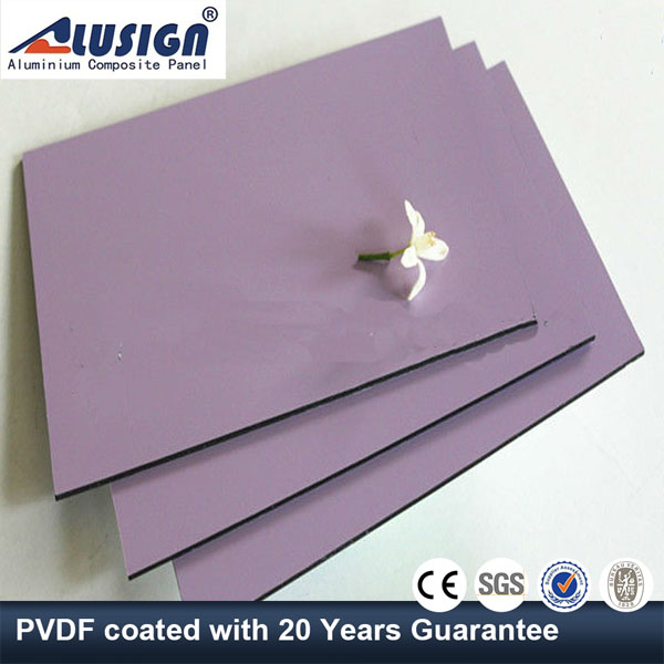 Alusign hot sale aluminum wall cladding panel installation with good quality