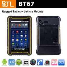 WDF0466 BATL BT67 GPS naviWDFtion IPS panel ip67 rugged tablet pc