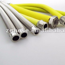 "1/2"" 3/4"" AISI304 316L stainless steel flexible metal hose for water heater"