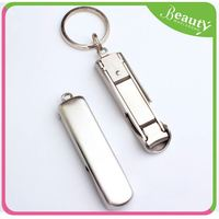 Nail clippers key chain manicure set ,H0Tmj metal nail cutter