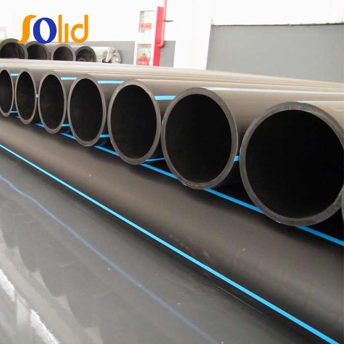Industrial PE Plastic Pipe / HDPE Water Pipe Dn25mm - 1200mm price list