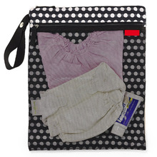 Timeless Classic Pattern Wholesale Wet and Dry Diaper Bag