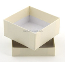 Plain White Printed Paper Cardboard Box For Business Cards Packaging