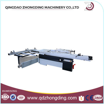 European ruler woodworking table saw for PVC board