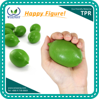 Gymnastic finger soft rubber hand squeeze exercise grip balls