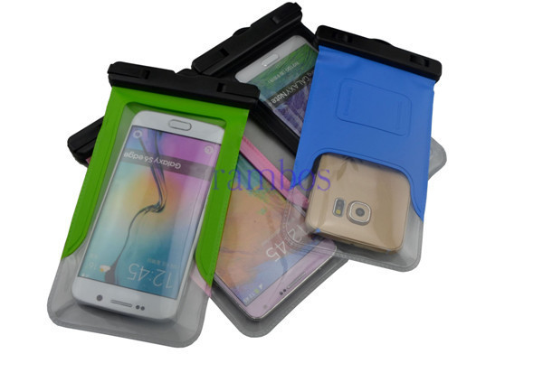 Waterproof Underwater Pouch Dry Bag Case Cover Touch Screen for iPhone 4 5 6 6 Plus