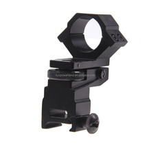 Funpowerland Tactical Laser flashlight Scope Mount 25.4mm Diameter Adjustable mount