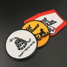handmade exquisite embroidered patch with adhesive back, fashion motifs design, custom epaulettes patch