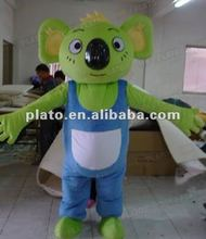 Funny Japanese advertising adult cartoon costume,most popular lovely inflatable mouse mascot costume for sale