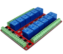 RM12HLE Double-Isolated <strong>12</strong> Channel Relay Module 10A 5V 12V 24V