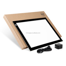 A4 Ultra-thin Portable LED Light Box tracer USB Power LED Artcraft Tracing Light Pad Light Box for Artists,Drawing, Sketching