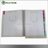 medical record file folder with U clip