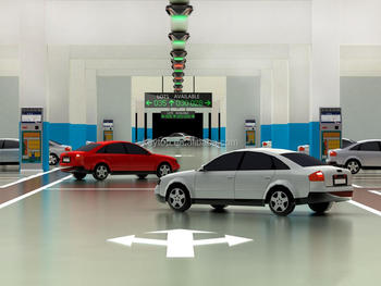 KEYTOP Video Detector based Car Finding System and Parking Guidance System