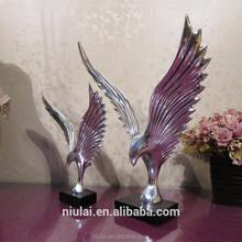 polyresin handicraft high quality eagle statue