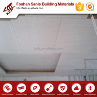 Easy intallation calcium silicate false ceiling tiles building material