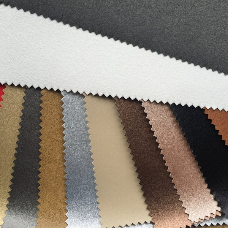 0.9mm-1.0mm R61 pu synthetic leather for shoes high competitive price