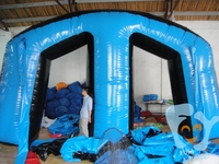 Classic M Inflatable Bunker Set for Paintball