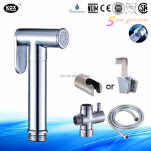 Brass Hand Held Bidet Sprayer, Bidet Spray brass Diaper Sprayer Shattaf Hand Sprayer for Bidet Toilet