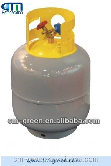 gas Refrigerant liquid Recovery cylinder R22 R134 safety valve
