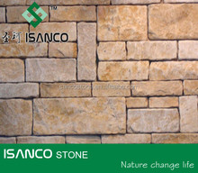 Chinese Henan yellow limestone for wall stone construction use