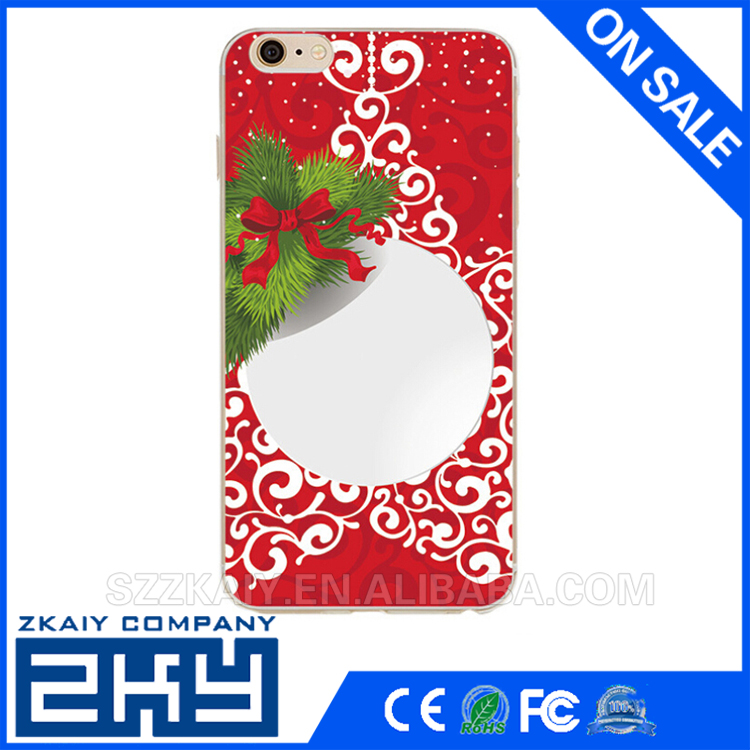 Phone Case For Apple Iphone 6 6S 5 5S SE 4 4S Soft Thin Cases Christmas Print Phone Bags For Iphone6 6S