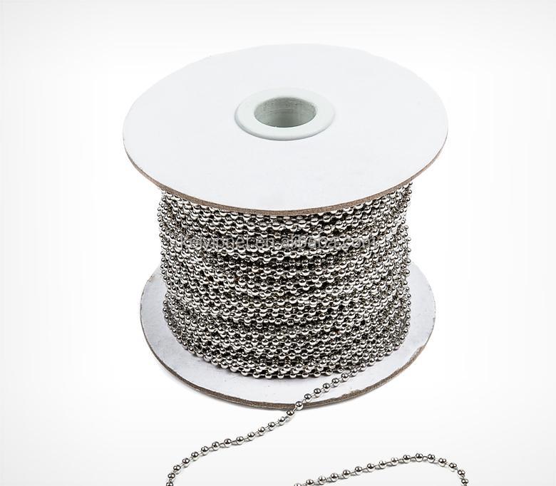 gros 316 cha ne boule en acier inoxydable sur la bobine collier id de produit 205030271 french. Black Bedroom Furniture Sets. Home Design Ideas