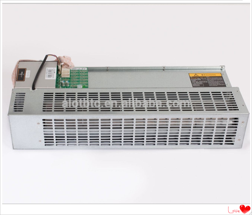 Bitmain Antminer R4 Bitcoin Miner 7.5TH W/ APW5 1300-2600W PSU and cables