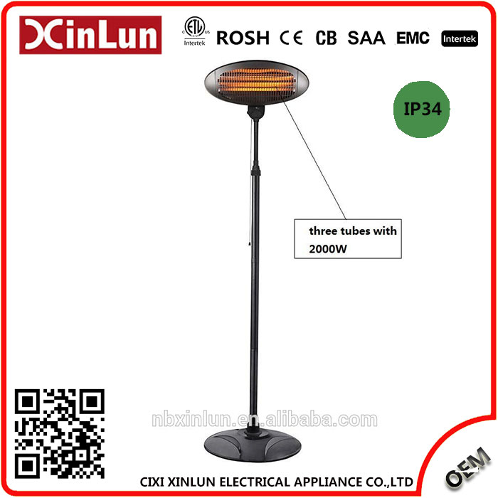 Manufacturer High Quality OEM China products patio heater for chicken house with LED Nightlight