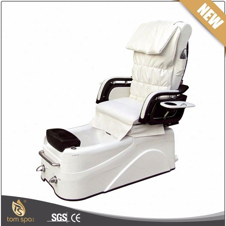 TS-1112E high quality pipeless system pedicure spa chairs with tub