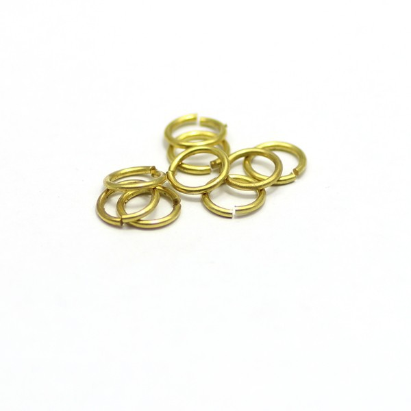 1mm wire dia 8mm colored close jump ring