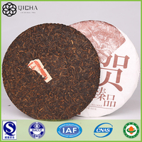 evening diet fat with raw puer tea cake