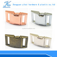 "Fashion metal strap bag clip buckle,lock metal bag buckle,1"" inch buckle for strap"