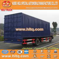4X2 DONGFENG brand goods transport 10tons load van vehicle 170hp with high quality best selling in China.