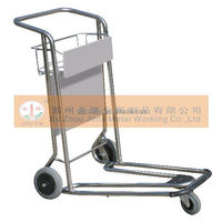 Aluminum Luggage Wheel With Brake Airport