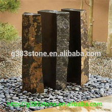 bush-hammered small hole lava stone volcanic stone for step