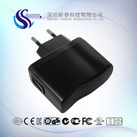 mass sales 5V 1.5A 8W GS plug charger for mobile phone