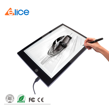 Ultra thin switch light touch Backlight LED tracing light board for students drawing sketching cartoon picture
