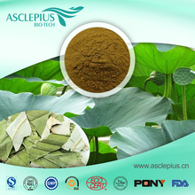 100% Natural Herbal Lotus Leaf Extract/Nuciferine 2%, lotus leaf powder