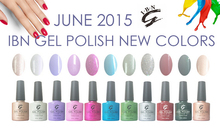 guangzhou IBN 2015 new coming nail gel polish